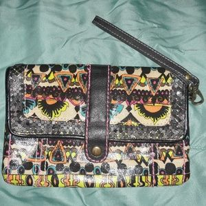 Colorful Clutch Hand Purse